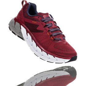 Hoka One One Gaviota 2 Running Shoes Herre rio red/dark slate